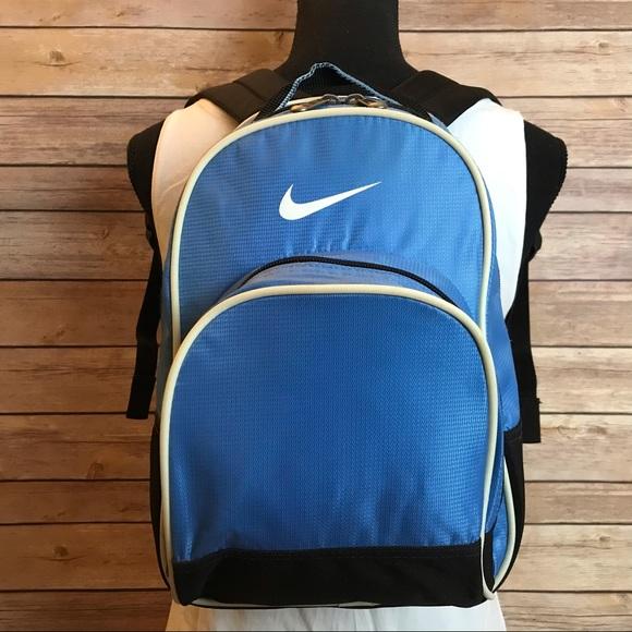 Nike Blue & Black Small Backpack